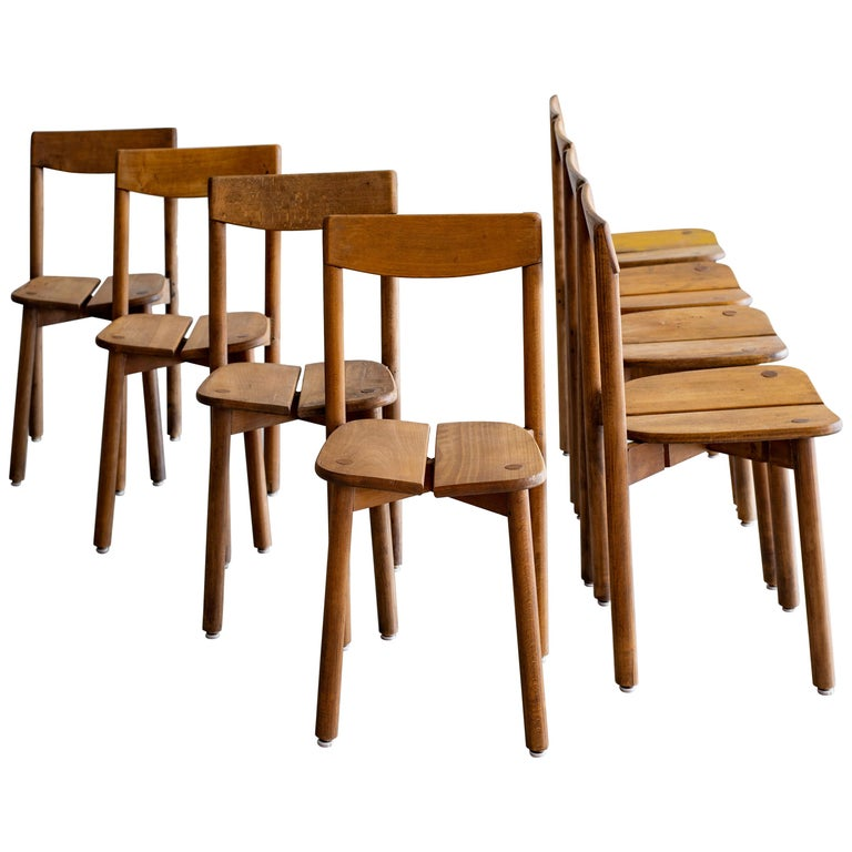 Pierre Gautier Delaye Dining Chairs For Sale