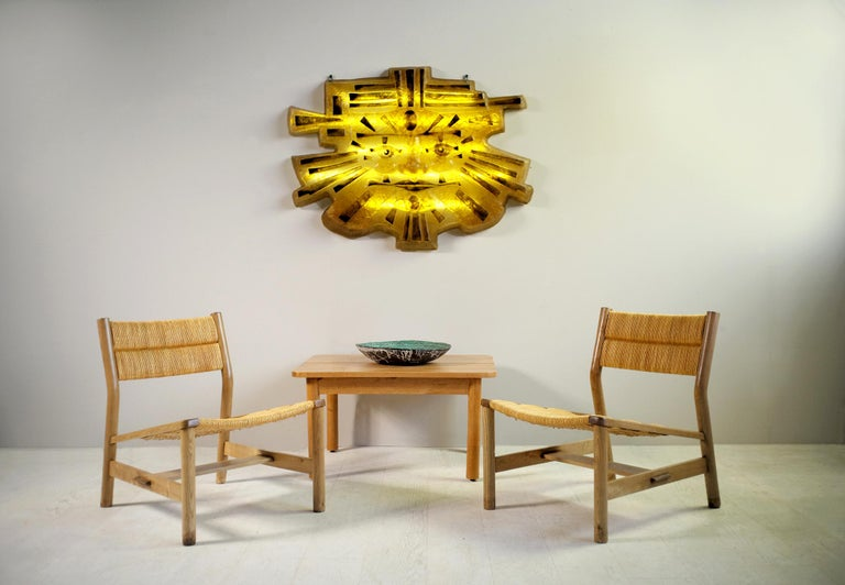 Pierre Gautier-Delaye, Pair of Week-End Armchairs, France, 1956 For Sale 1