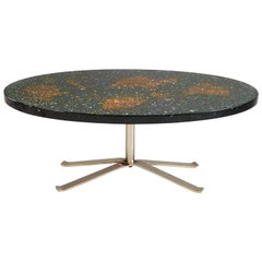 Pierre Giraudon, Resin Coffee Table, France 1970