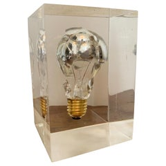 Pierre Giraudon Shattered Bulb Sculpture, 1970s