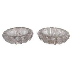 Pierre Gire '1901-1984', Aka Pierre d'Avesn, Two Art Deco Bowls, 1940s