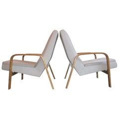 Pierre Guariche, André Motte, Michel Mortier Pair of Armchairs for Steiner