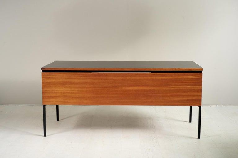 French Pierre Guariche, Executive Desk 620, France, 1960 For Sale