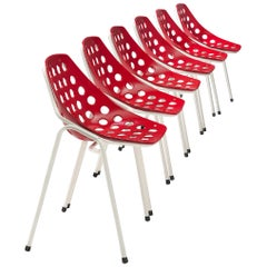 Pierre Guariche for Meurop Coquillage Chairs