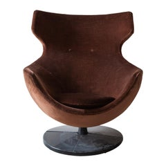 "Pierre Guariche ""Jupiter"" Swivel Chair, Belgium"
