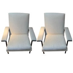 Pierre Guariche Pair of Side Chairs