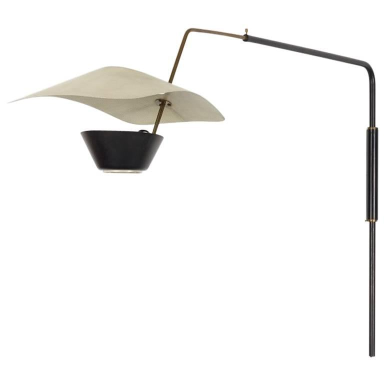Pierre Guariche Wall Mounted Lamp At 1stdibs