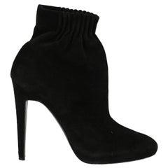 Pierre Hardy  Women   Ankle boots  Black Leather EU 39