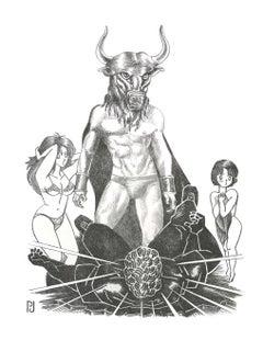Pierre Jacob - Minotaure-Manga - C