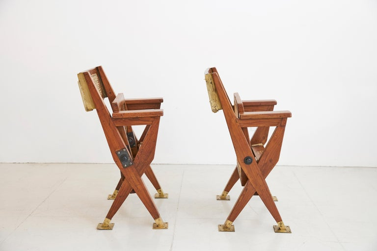 French Pierre Jeanneret Chairs For Sale