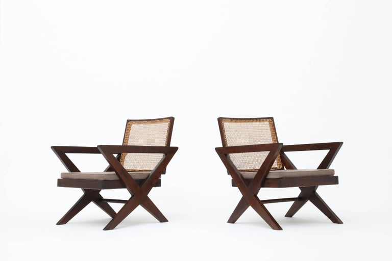 French Pierre Jeanneret, Pair of