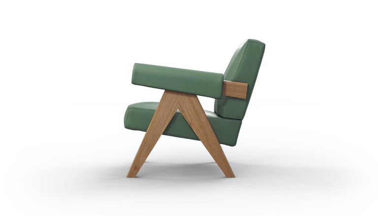 Pierre Jeanneret 053 Capitol Complex Armchair by Cassina In New Condition For Sale In Barcelona, Barcelona
