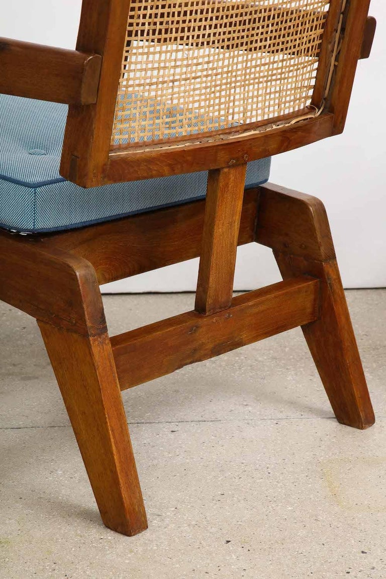 Mid-20th Century Pierre Jeanneret Armchairs For Sale