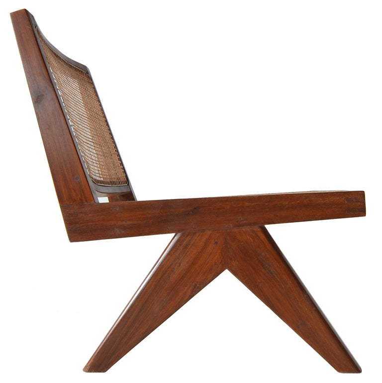 Pierre Jeanneret Armless Easychairs For Sale 2