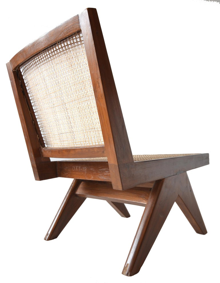 Pierre Jeanneret Armless Easychairs For Sale 4