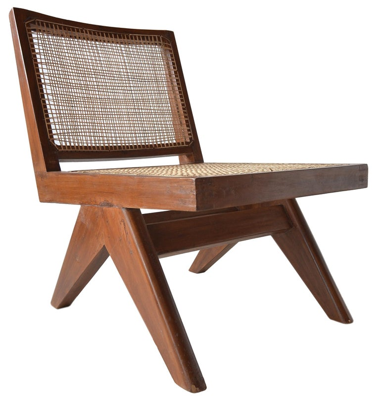 Pierre Jeanneret Armless Easychairs For Sale 5