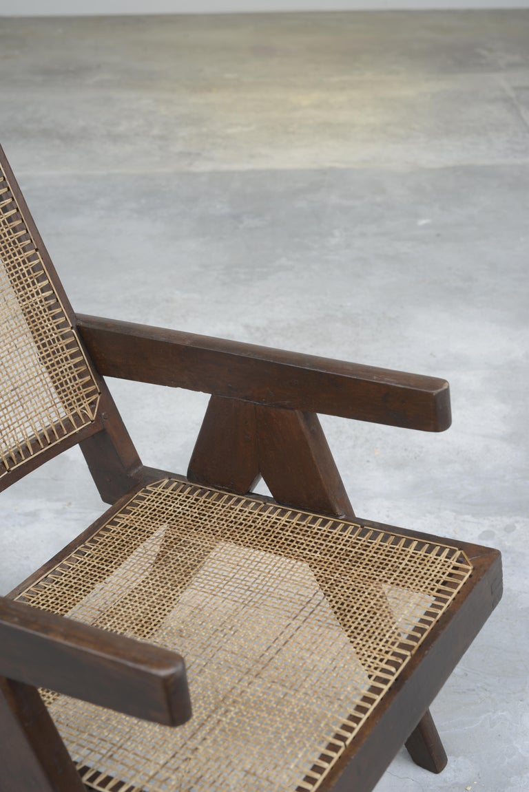 Pierre Jeanneret Authentic Easy Cane Chairs PJ-SI-29-A For Sale 7