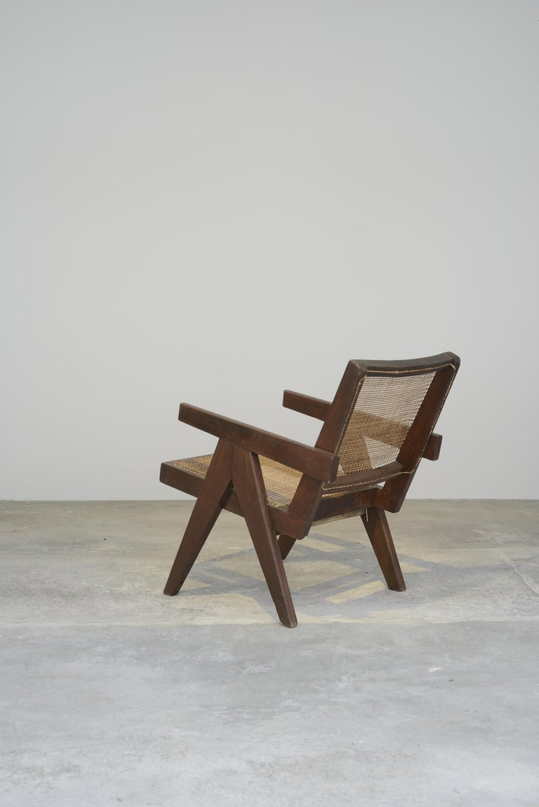 Pierre Jeanneret Authentic Easy Cane Chairs PJ-SI-29-A In Good Condition For Sale In Dietikon, CH