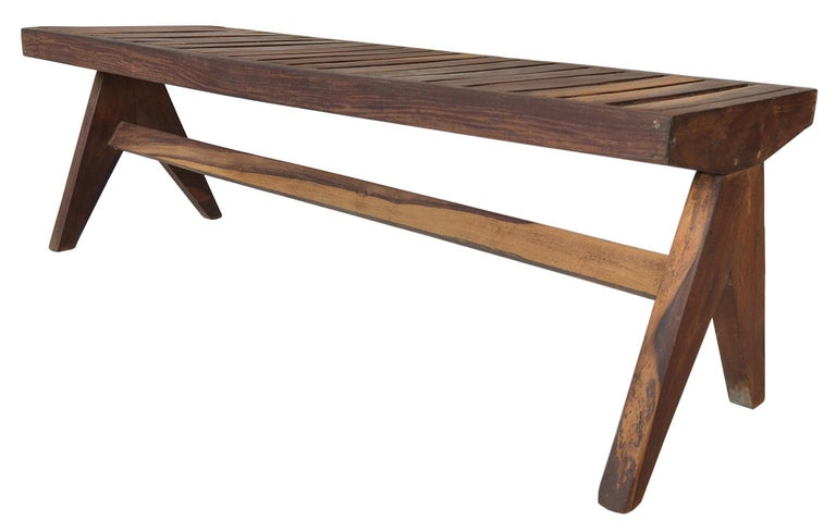 Pierre Jeanneret Bench 8
