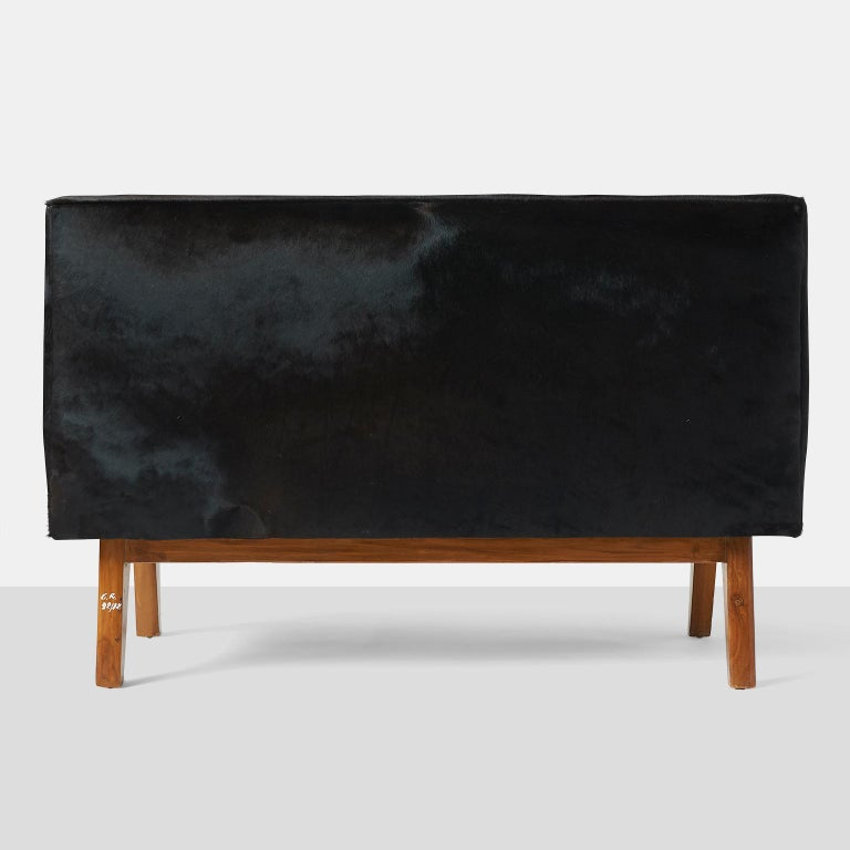 Indian Pierre Jeanneret Bench for the High Court For Sale