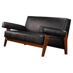 Pierre Jeanneret Bridge Chair Sofa Authentic Mid-Century Modern PJ-SI-42-B
