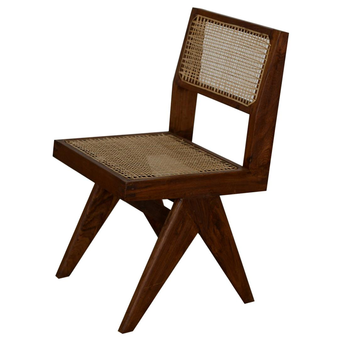 Pierre Jeanneret Chair Authentic Mid-Century Modern Chandigarh PJ-SI-25-A