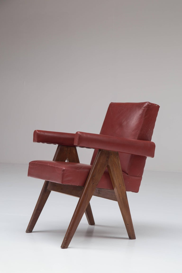 French Pierre Jeanneret 'Committee' Lounge Chairs For Sale