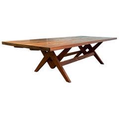 Pierre Jeanneret Committee Table in Solid Teak