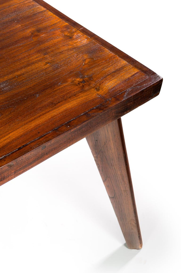 Pierre Jeanneret, Dining Table, 1960 In Good Condition For Sale In Paris, FR