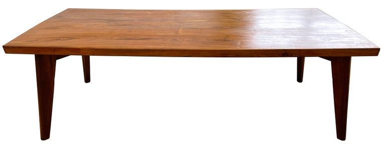 Mid-20th Century Pierre Jeanneret Dining Table in Sissoo Wood For Sale