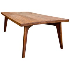 Pierre Jeanneret Dining Table in Sissoo Wood