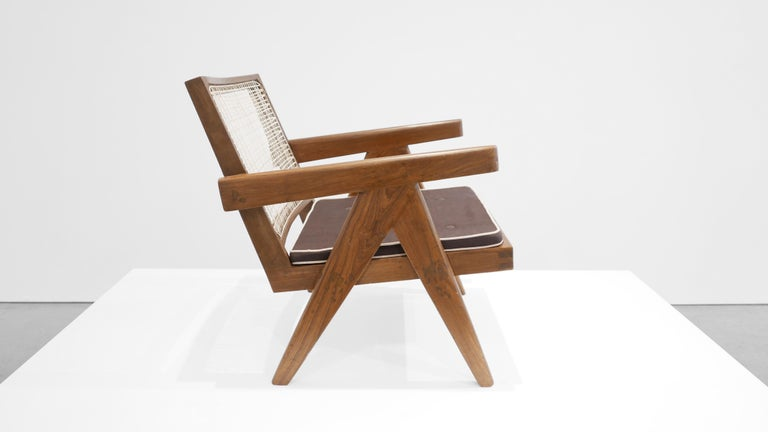 Mid-Century Modern Pierre Jeanneret 'Easy' Armchair, circa 1955 For Sale