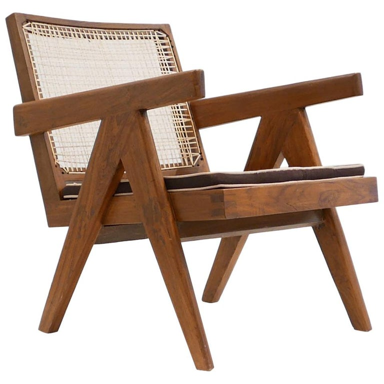 Pierre Jeanneret 'Easy' Armchair, circa 1955 For Sale