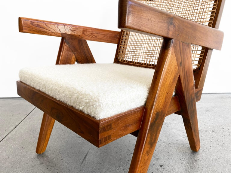 Indian Pierre Jeanneret 'Easy' Armchair, circa 1955 For Sale