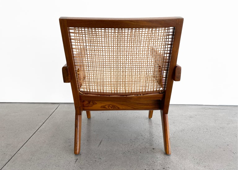 Pierre Jeanneret 'Easy' Armchair, circa 1955 In Good Condition For Sale In LAGUNA BEACH, CA