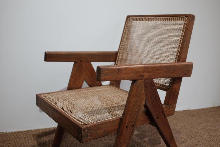 "Mid-Century Modern Pierre Jeanneret ""Easy Armchair"", PJ-SI-29-A For Sale"