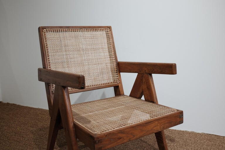 """Pierre Jeanneret """"Easy Armchair"""", PJ-SI-29-A In Good Condition For Sale In Paris, FR"""
