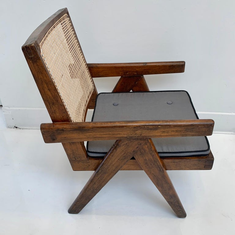 Indian Pierre Jeanneret 'Easy' Chairs For Sale