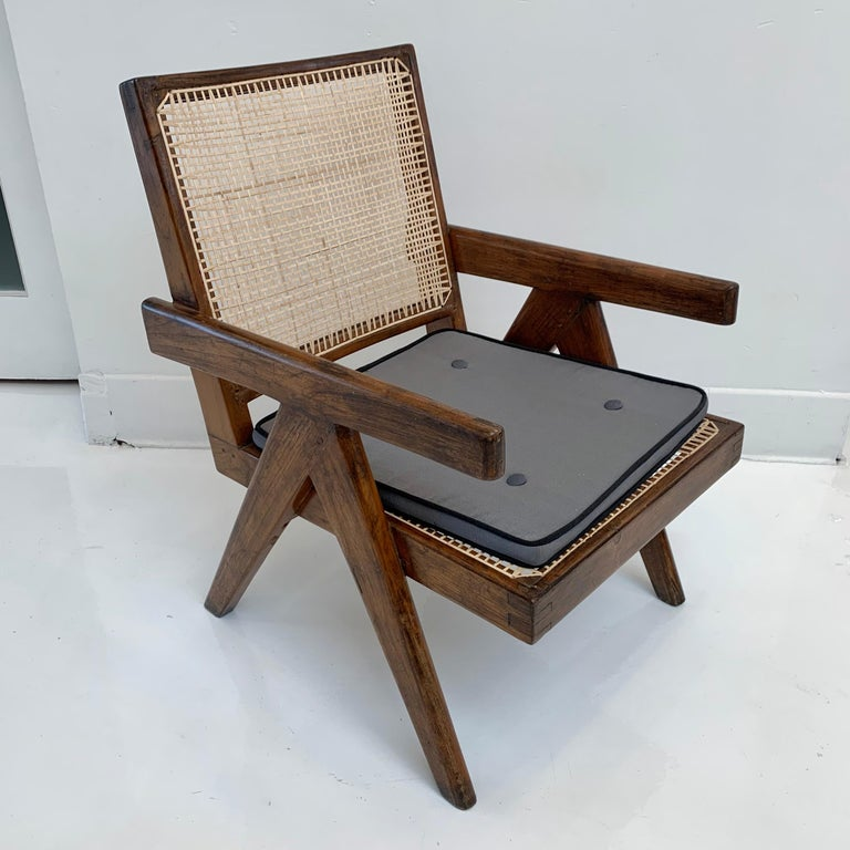 Pierre Jeanneret 'Easy' Chairs In Good Condition For Sale In Los Angeles, CA