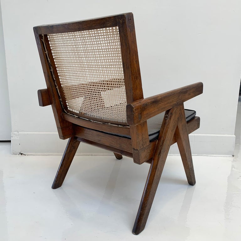 Cane Pierre Jeanneret 'Easy' Chairs For Sale