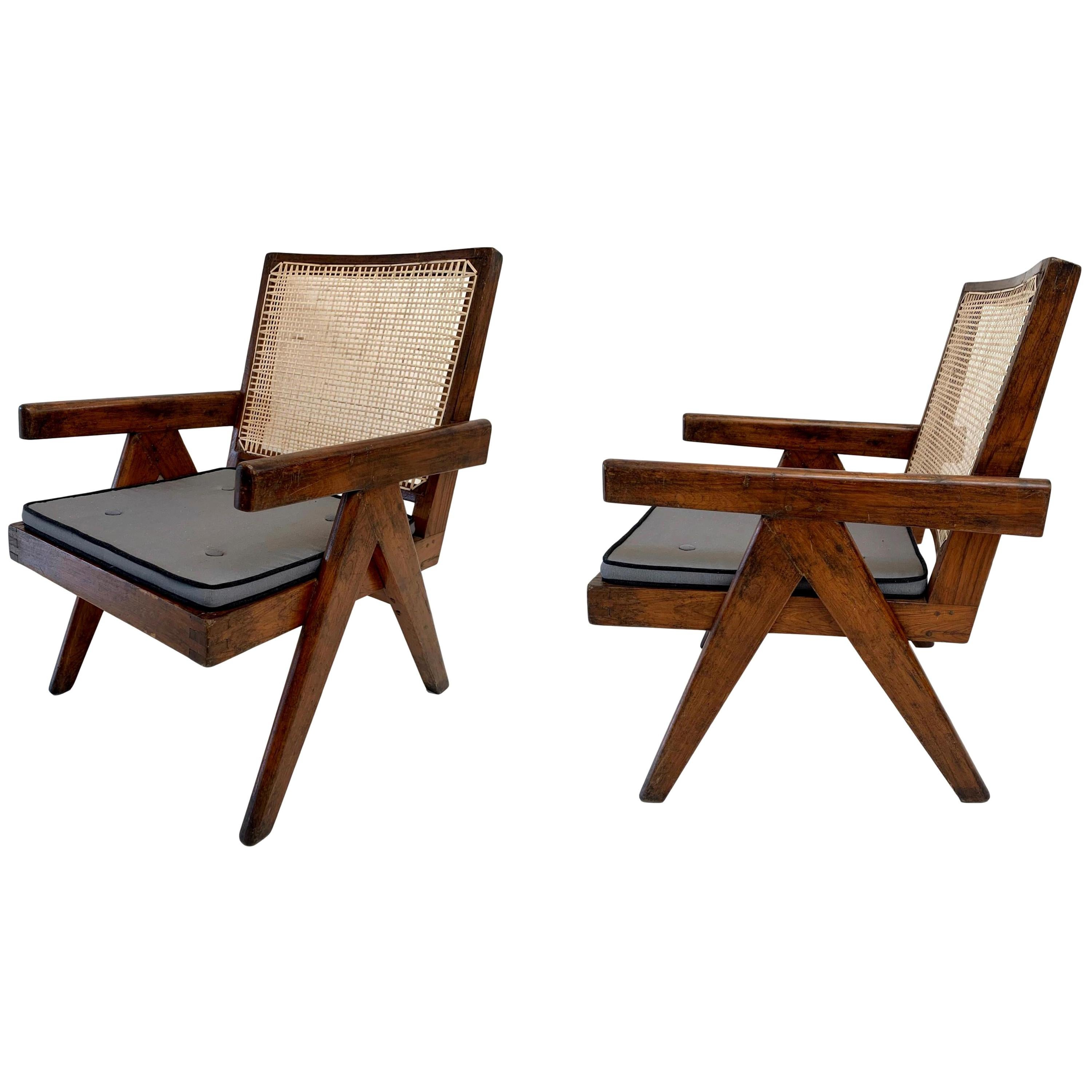 Pierre Jeanneret 'Easy' Chairs