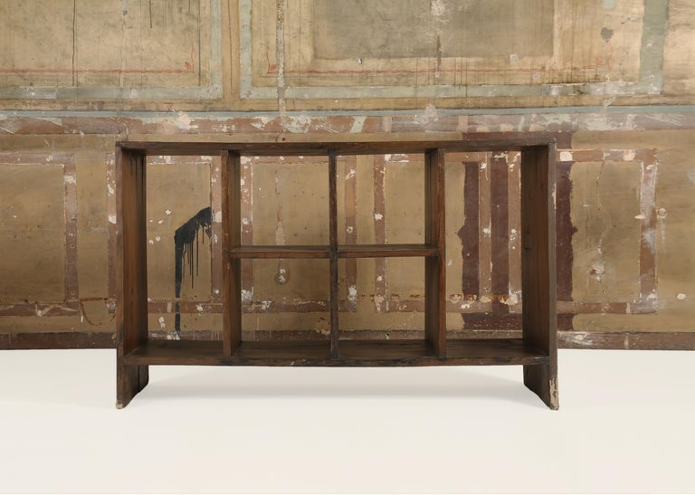 """Pierre Jeanneret, (1896-1967),  Pierre Jeanneret a """"File Rack"""", PJ-R-27-A   Structured with teak.  A piece of """"File Rack"""", from the low, high court, legislative assembly, and various administrative buildings in Chandigarh."""