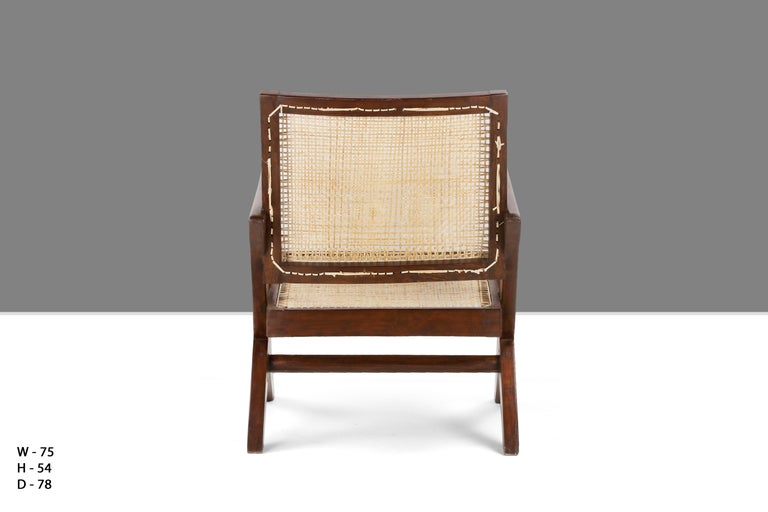 Caning Pierre Jeanneret AUTHENTIC