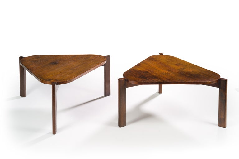 Mid-20th Century Pierre Jeanneret, Large Coffee Table, 1960 For Sale