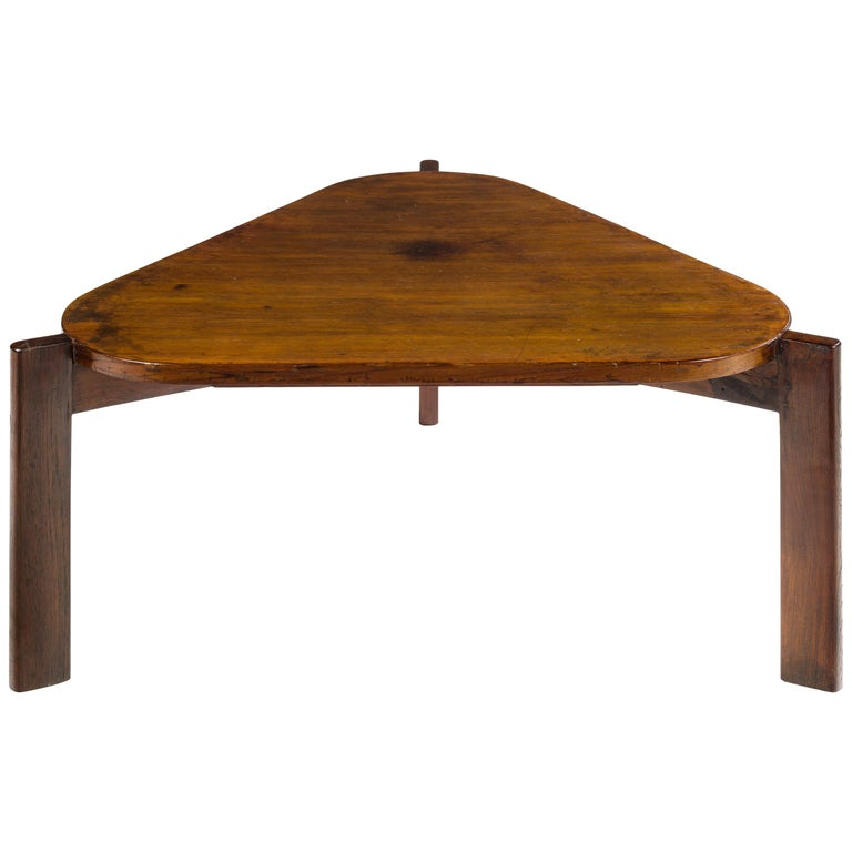Pierre Jeanneret, Large Coffee Table, 1960 For Sale