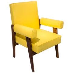 Pierre Jeanneret & Le Corbusier Advocate Armchair, 1955-1956, Yellow