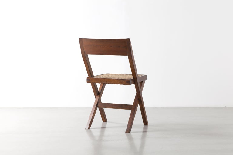 Indian Pierre Jeanneret, Library Chair, circa 1959-1960 For Sale