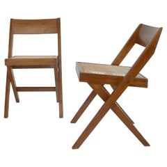 Pierre Jeanneret Library Chair AUTHENTIC Chandigarh PJ-SI-51-A