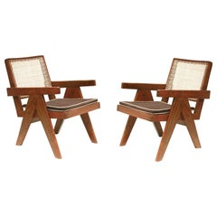 Pierre Jeanneret Lounge Chairs