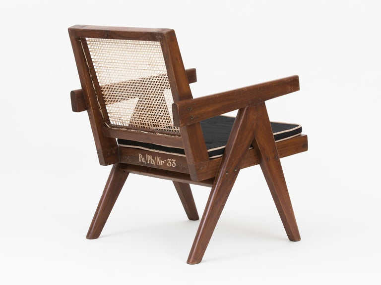 Pierre Jeanneret Low Lounge Chairs For Sale 5